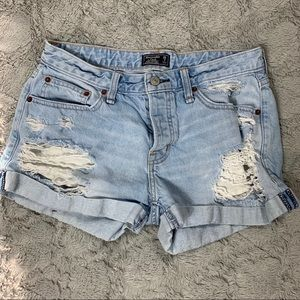 Abercrombie and Fitch Ames boyfriend shorts